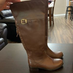 ⭐️Blondo tall brown boots, size 6.5